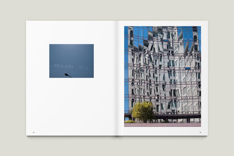 Karsten Rohrbeck: New York '09 Fotobuch Innenseiten 54–55