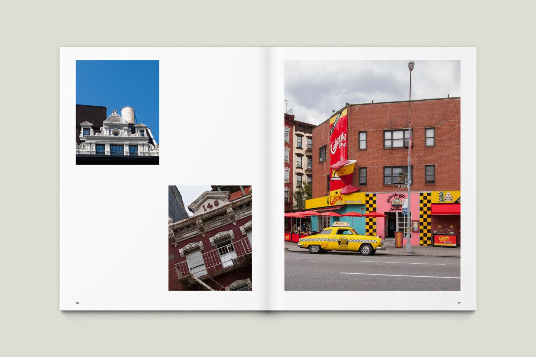 Karsten Rohrbeck: New York '09 Fotobuch Innenseiten 56–57