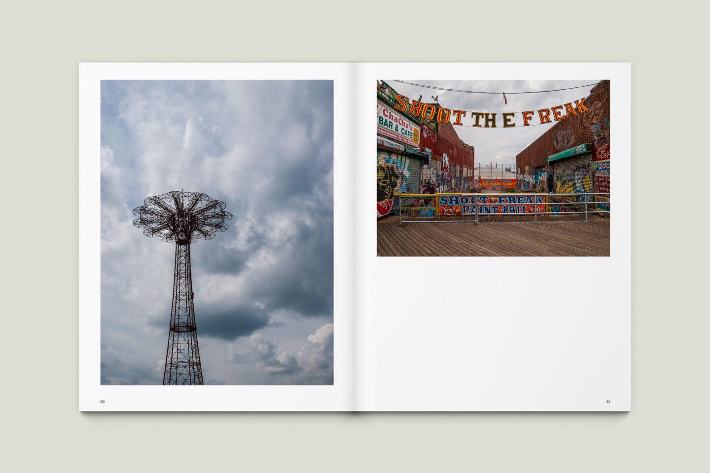 Karsten Rohrbeck: New York '09 Fotobuch Innenseiten 60–61