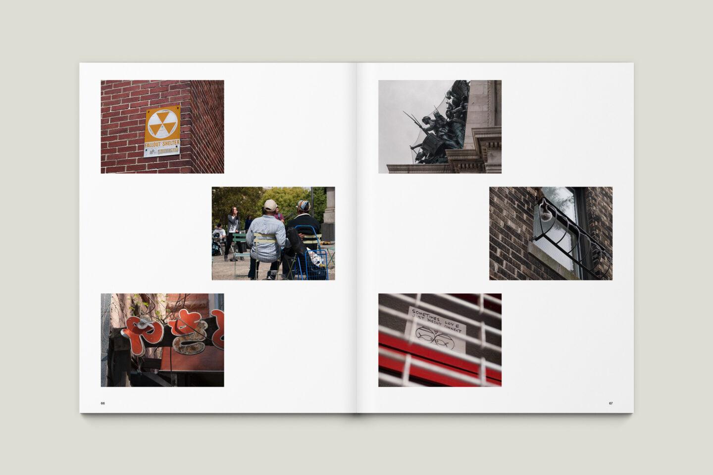 Karsten Rohrbeck: New York '09 Fotobuch Innenseiten 66–67