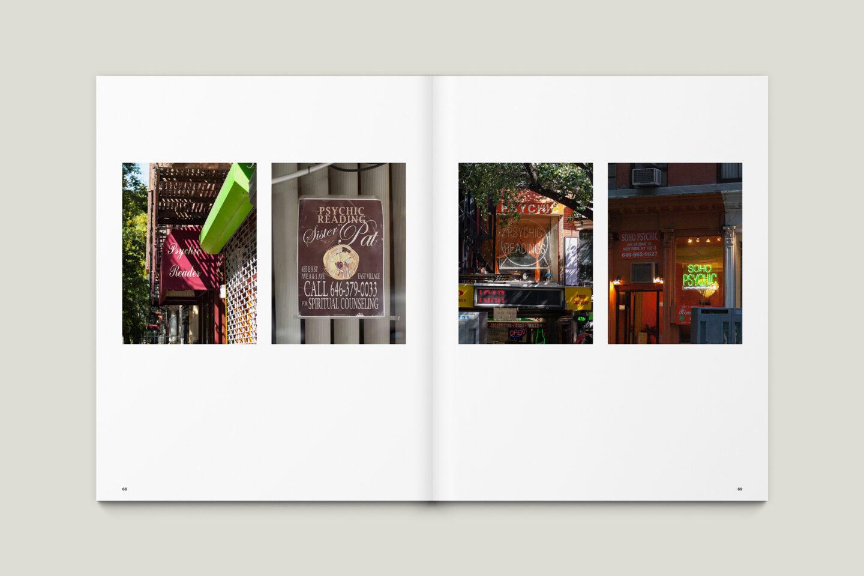 Karsten Rohrbeck: New York '09 Fotobuch Innenseiten 68–69