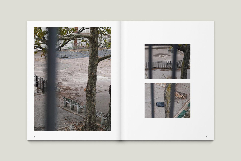 Karsten Rohrbeck: New York '09 Fotobuch Innenseiten 74–75