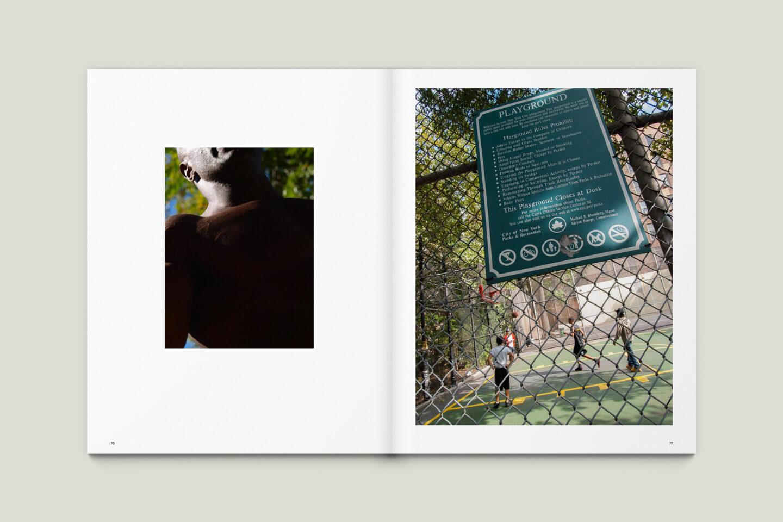 Karsten Rohrbeck: New York '09 Fotobuch Innenseiten 76–77