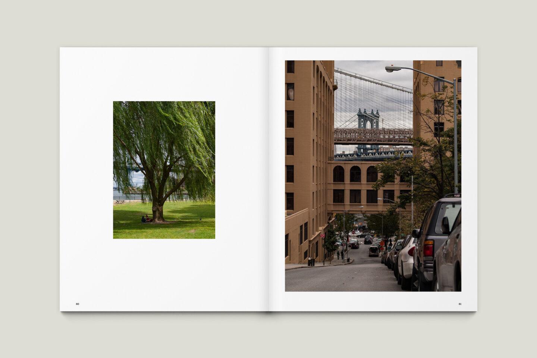 Karsten Rohrbeck: New York '09 Fotobuch Innenseiten 80–81
