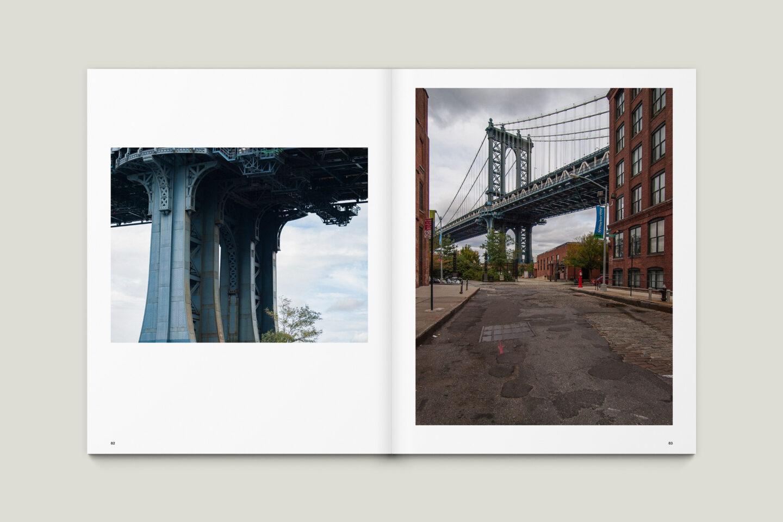 Karsten Rohrbeck: New York '09 Fotobuch Innenseiten 82–83