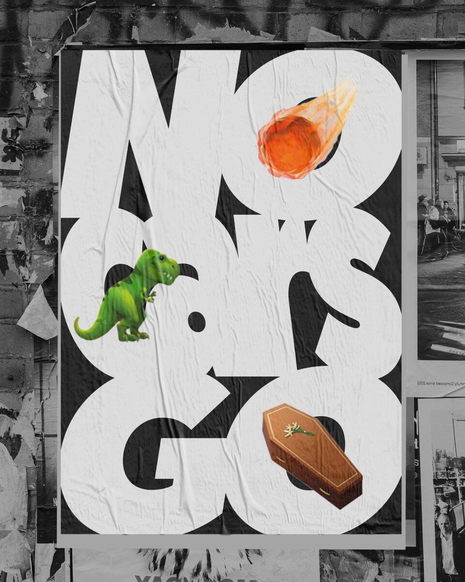 Karsten Rohrbeck: Poster als Kapitalismuskritik –No Cars Go