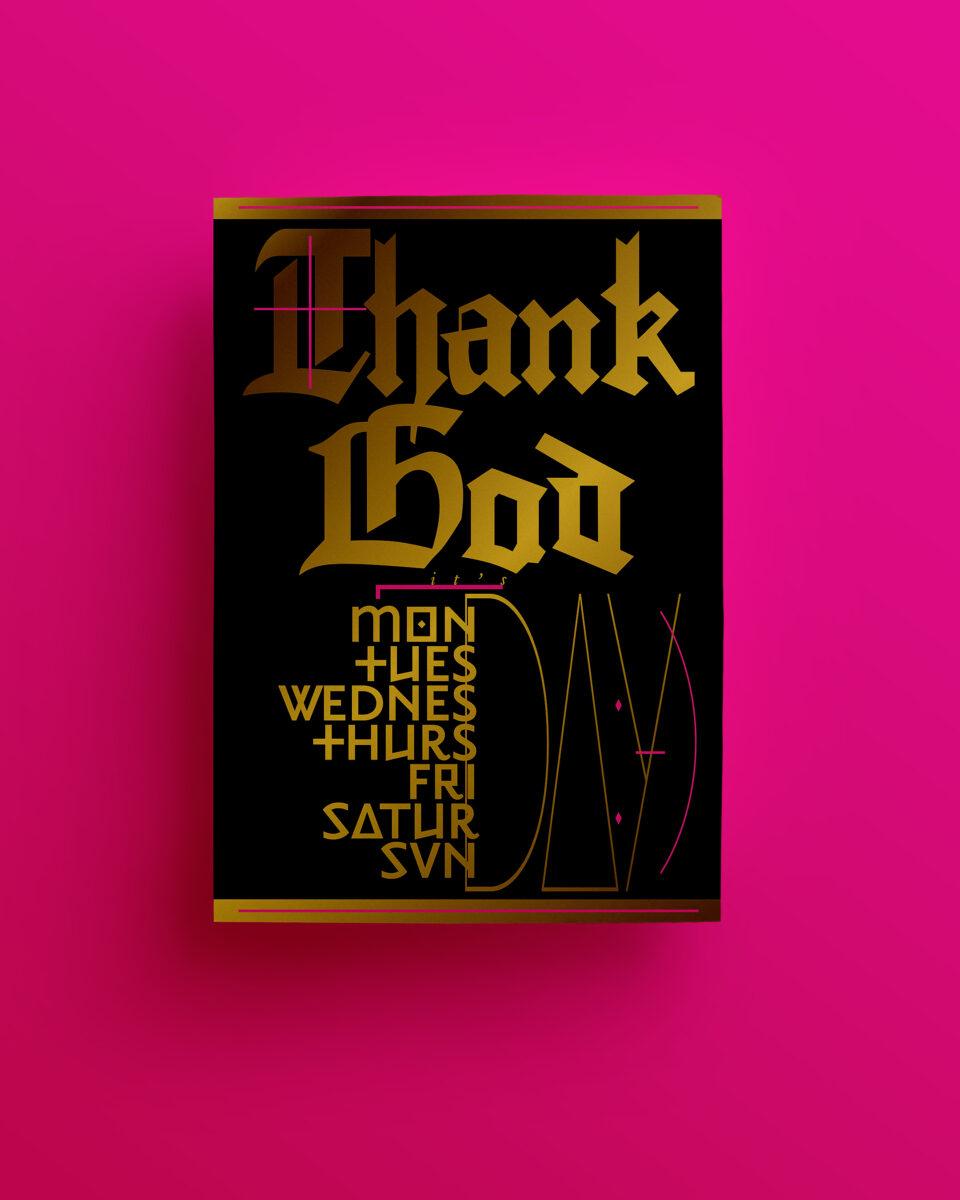 Karsten Rohrbeck: Thank God v2-I, DINA4, Beitragsbild