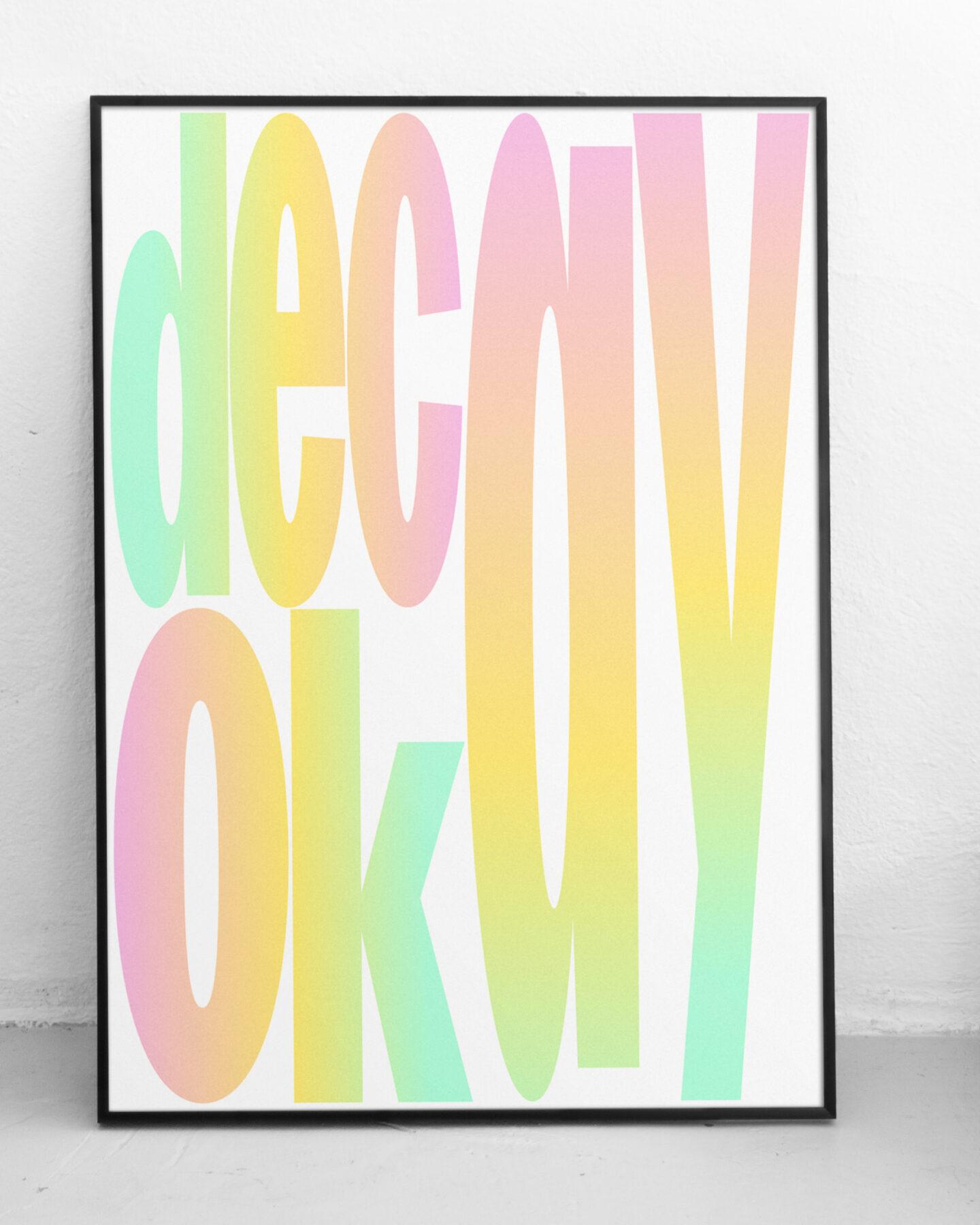 Karsten Rohrbeck: Decay Okay Poster Mock-Up