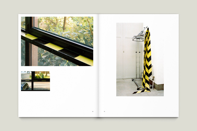 Kunstkatalog für Dagmar Lutz: Linie Raum Licht (Bsp. Innenseite 10/12)