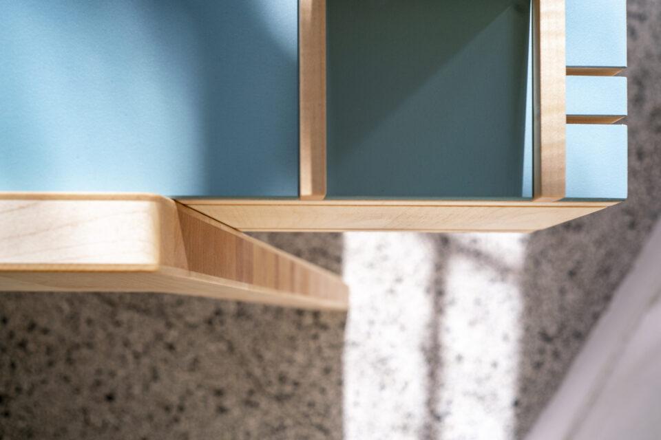 Produktfotografie: Kinderschreibtisch Janne (Detailfoto 2)