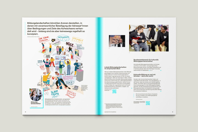 Publikation Aktivitäten der BKJ (2020) Innenseiten 22-23