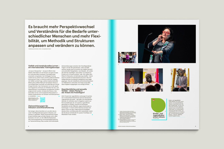 Publikation Aktivitäten der BKJ (2020) Innenseiten 8-9