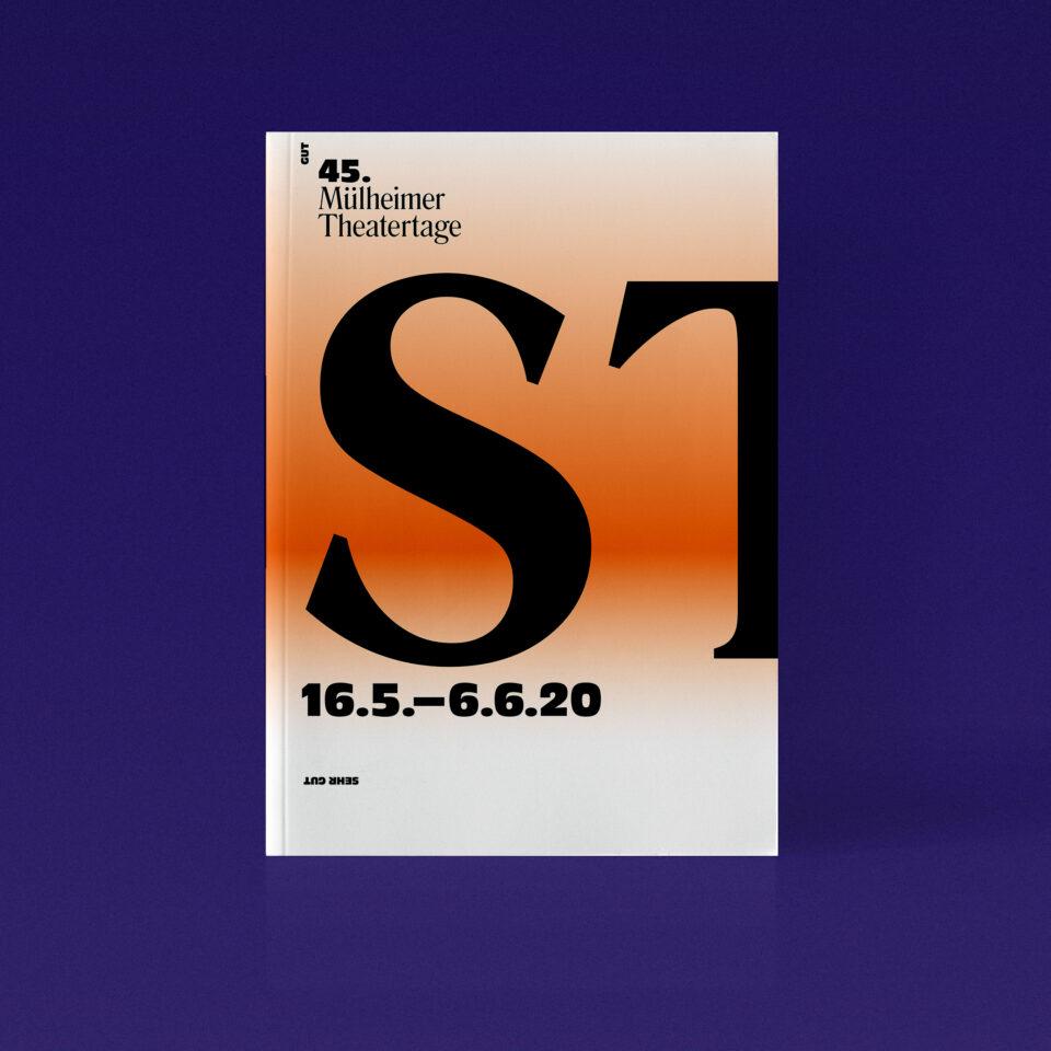 Programmbroschur Stücke 45 – Mülheimer Theatertage 2020 cover