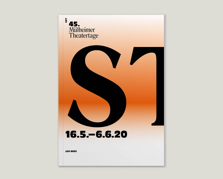 Programmbroschur Stücke 45 – Mülheimer Theatertage 2020 cover hell